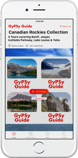 Canadian Rockies Collection GyPSy Guide Driving Tour Apps