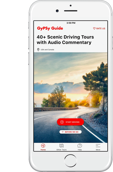GyPSy Guide Driving Tour App