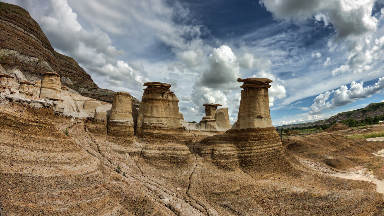 Drumheller with GyPSy Guide Driving Tour App