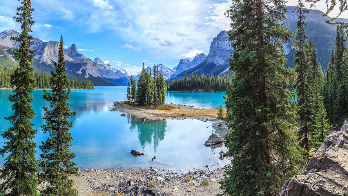 Jasper National Park with GyPSy Guide Driving Tour App