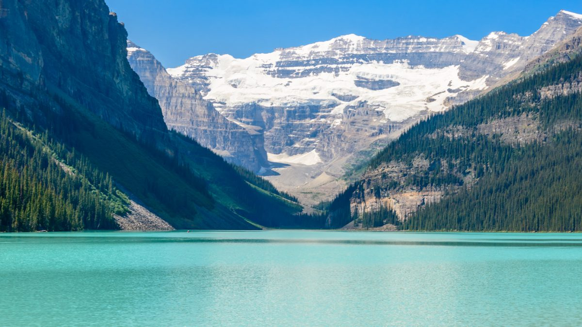 Lake Louise with GyPSy Guide Driving Tour App