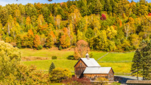 RT100 Scenic Byway Vermont with GyPSy Guide Driving Tour App