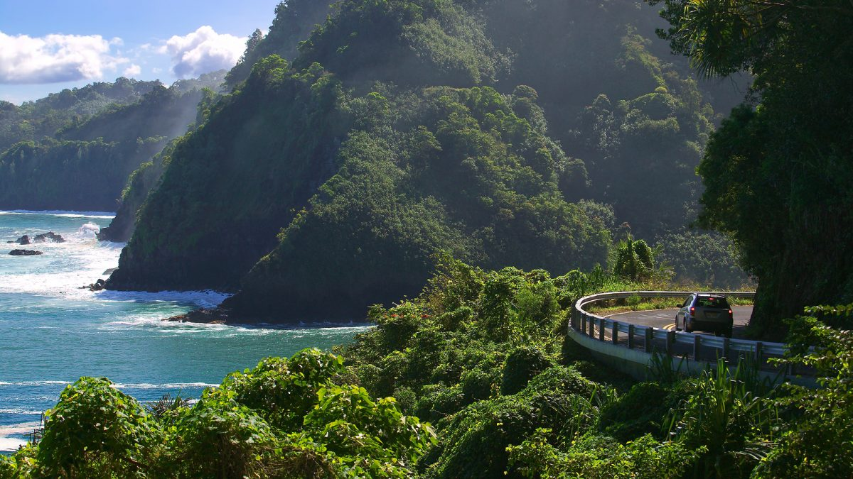 Road To Hana - Maui, Hawaii with GyPSy Guide Tour App