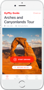 Arches & Canyonlands National Park Tours by GyPSy Guide Apps