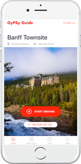 Banff Townsite Tour by GyPSy Guide App