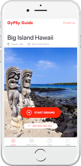 Big Island Hawaii Tour by GyPSy Guide App