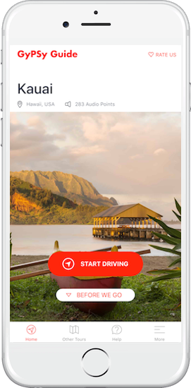 Kauai Tour by GyPSy Guide App