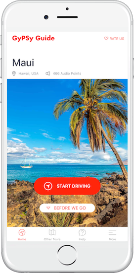 Maui Tour by GyPSy Guide App