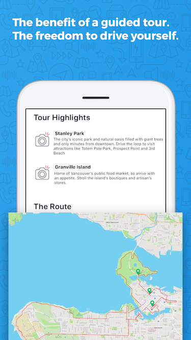 Vancouver Downtown Driving Tour App | GyPSy Guide