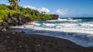 11Black Sand Beach, Road to Hana GyPSy Guide Driving Tour App