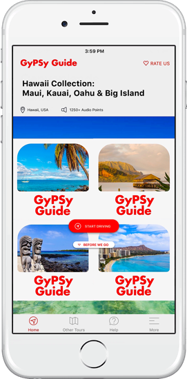 Hawaii Collection GyPSy Guide Driving Tour Apps