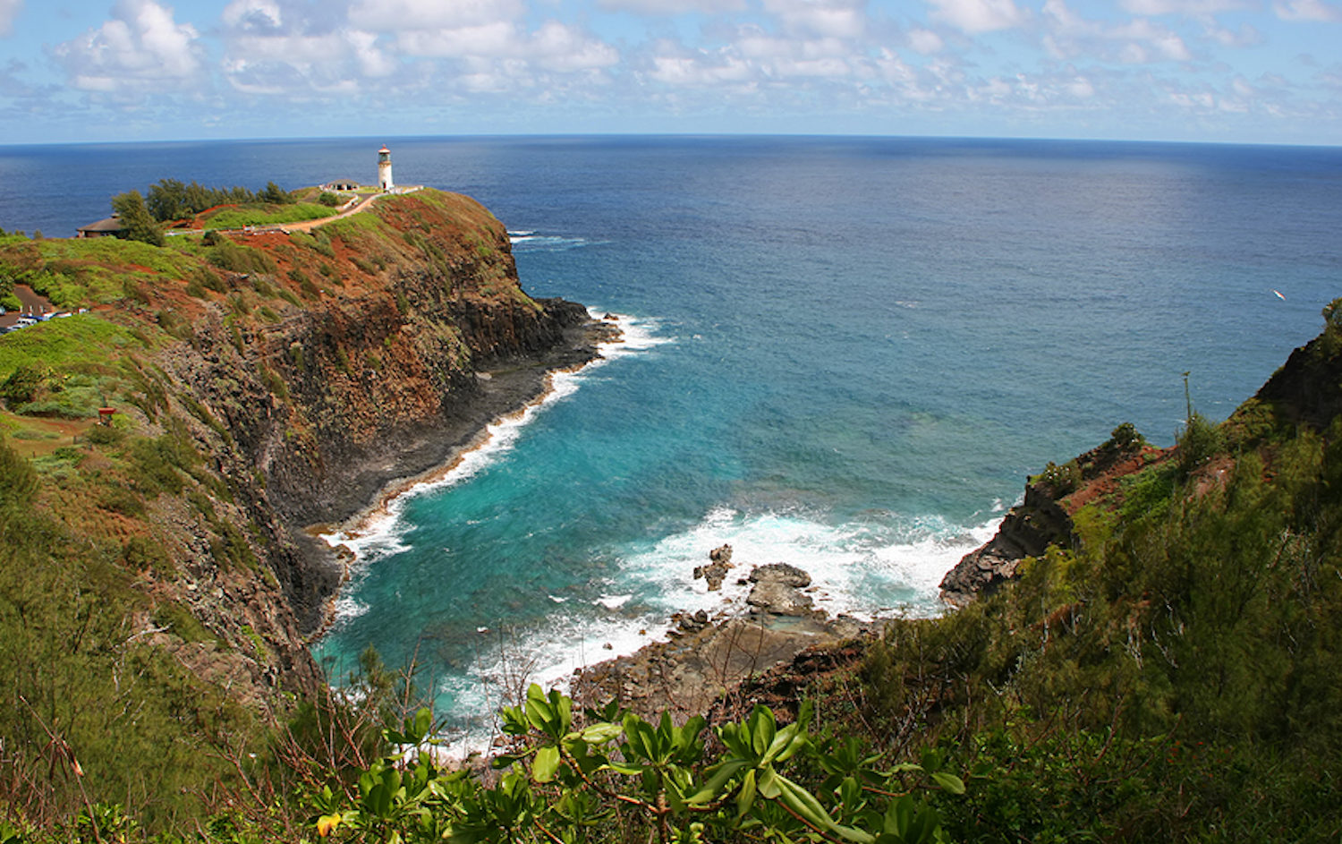 Kilauea Lighthouse, Kauai Hawaii with GyPSy Guide Tour App