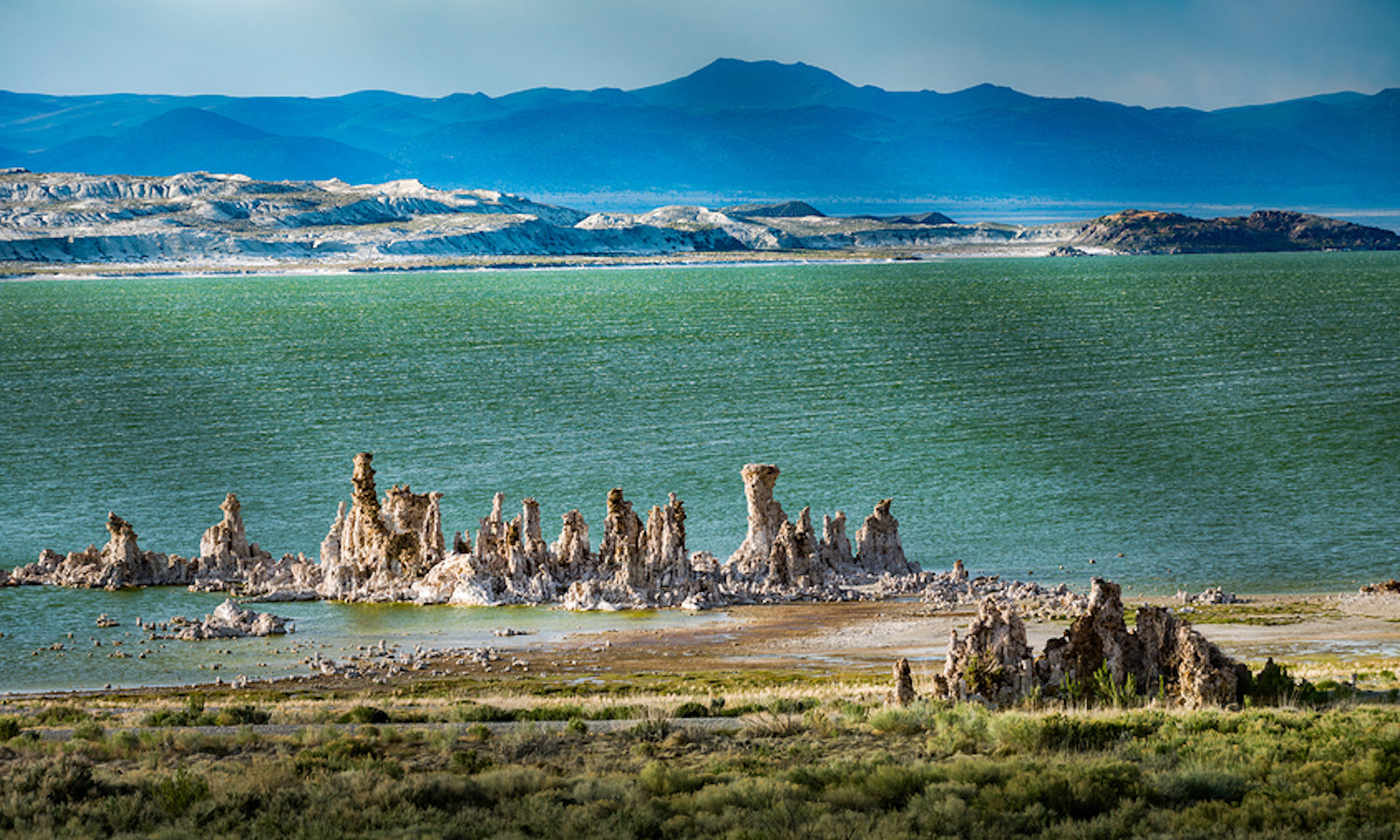 Mono Lake with GyPSy Guide Scenic Driving Tour App