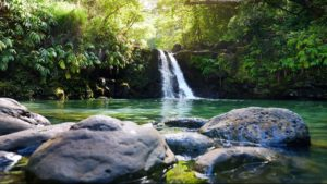 Road to Hana Waterfalls on GyPSy Guide Driving Tour App