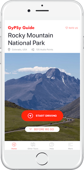 Rocky Mountain National Park GyPSy Guide Tour App