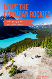 Drive the Canadian Rockies with GyPSy Guide Driving Tour Apps