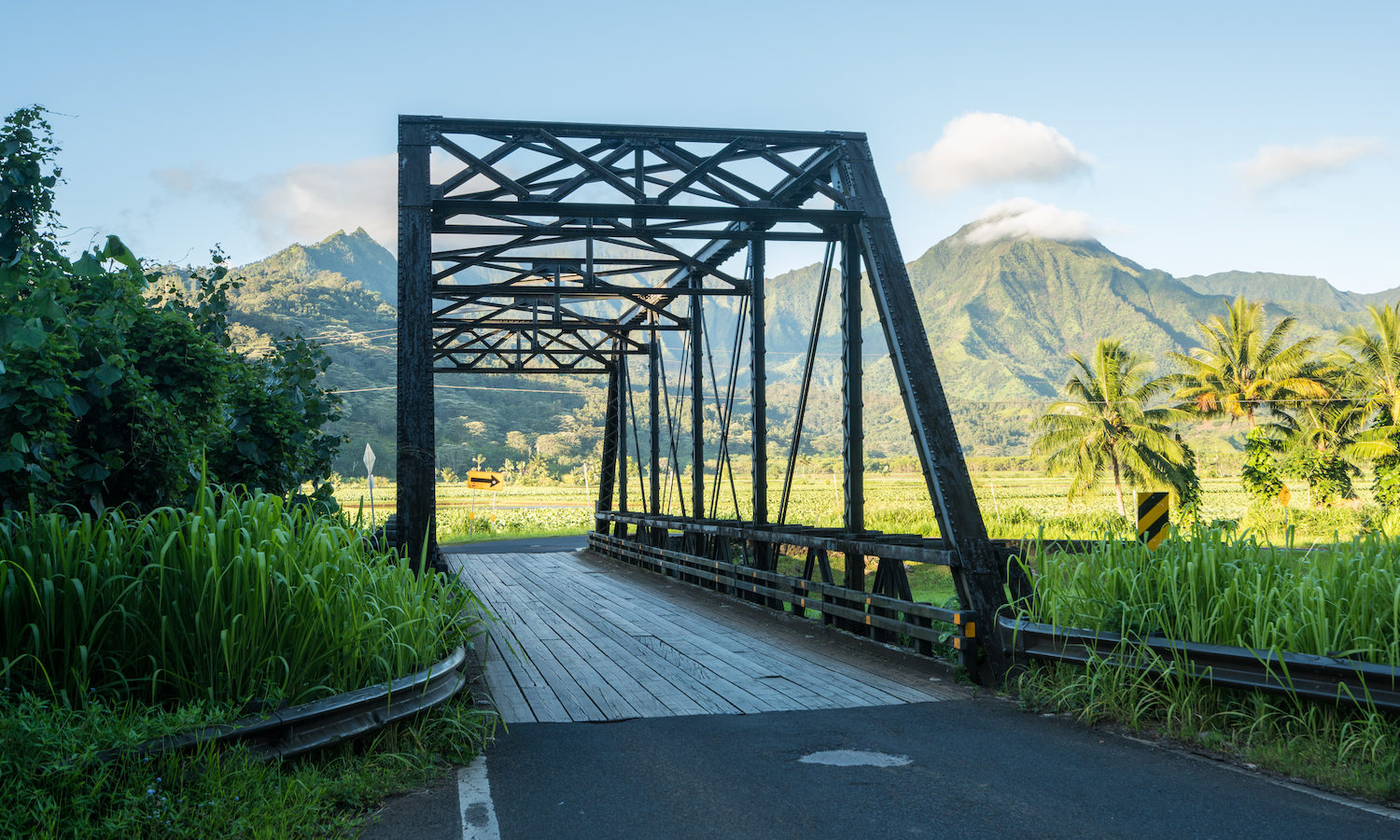 Hanalei Bridge, GyPSy Guide Narrated Driving Tour App for Kauai