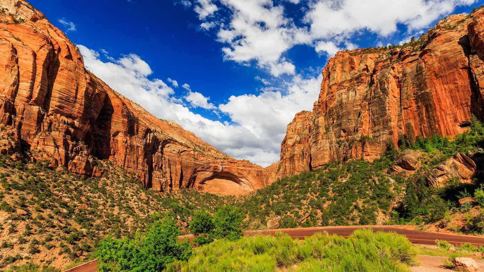 Zion & Bryce Canyon Driving Tour App | GyPSy Guide Zion Route Map on united states route map, purple line route map, chicago route map, mt whitney route map, great lakes route map,