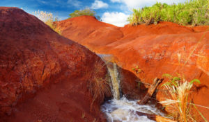 Red Dirt, GyPSy Guide Narrated Driving Tour App for Kauai