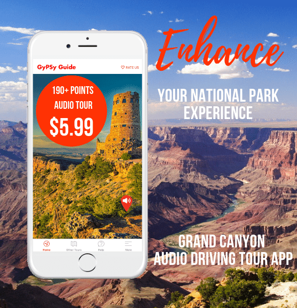 Grand Canyon Audio Driving Tour App