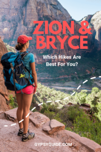 Zion & Bryce Canyon Hikes Blog
