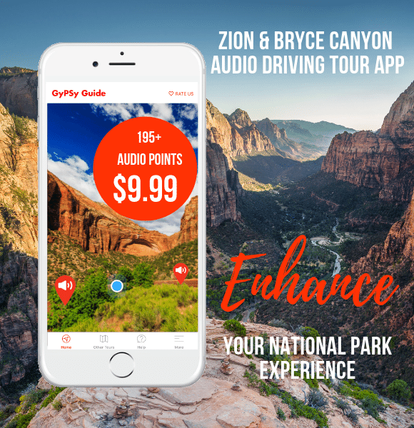 Best Hikes In Zion & Bryce | GyPSy Guide Audio Driving Tour Apps