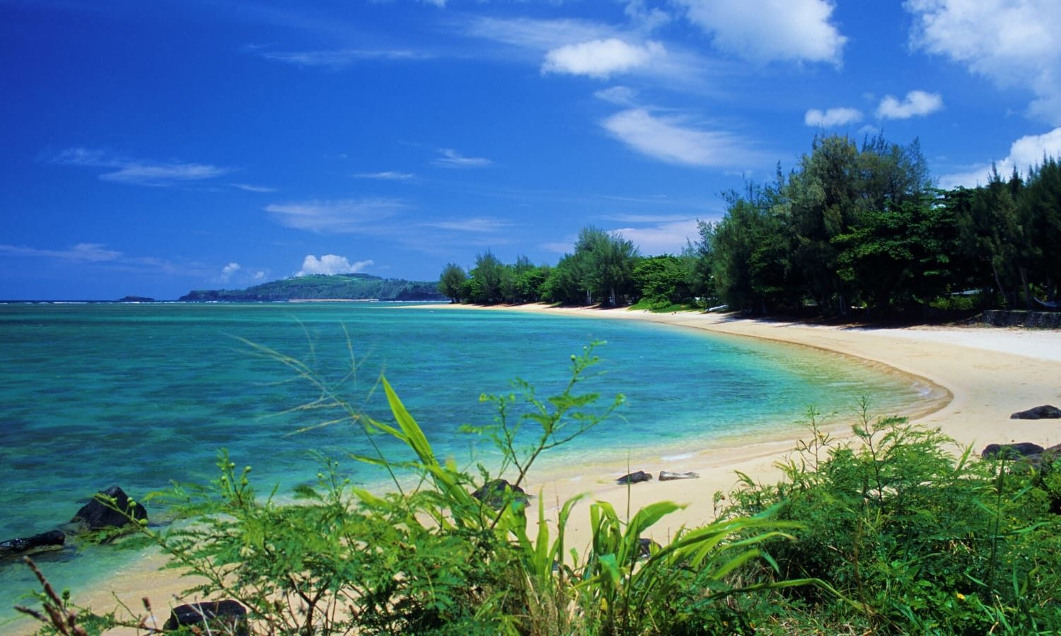 Anini Beach, Kauai with GyPSy Guide Driving Tour App