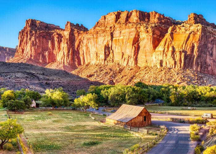 Capitol Reef National Park with GyPSy Guide Driving Tour App