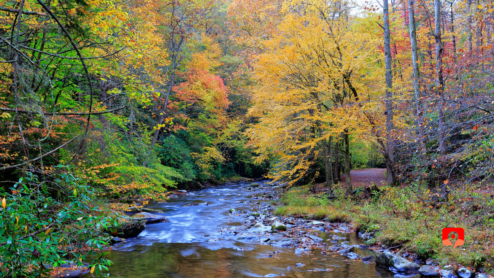 Great Smoky Mountains National Park with GyPSy Guide Audio Driving Tour App