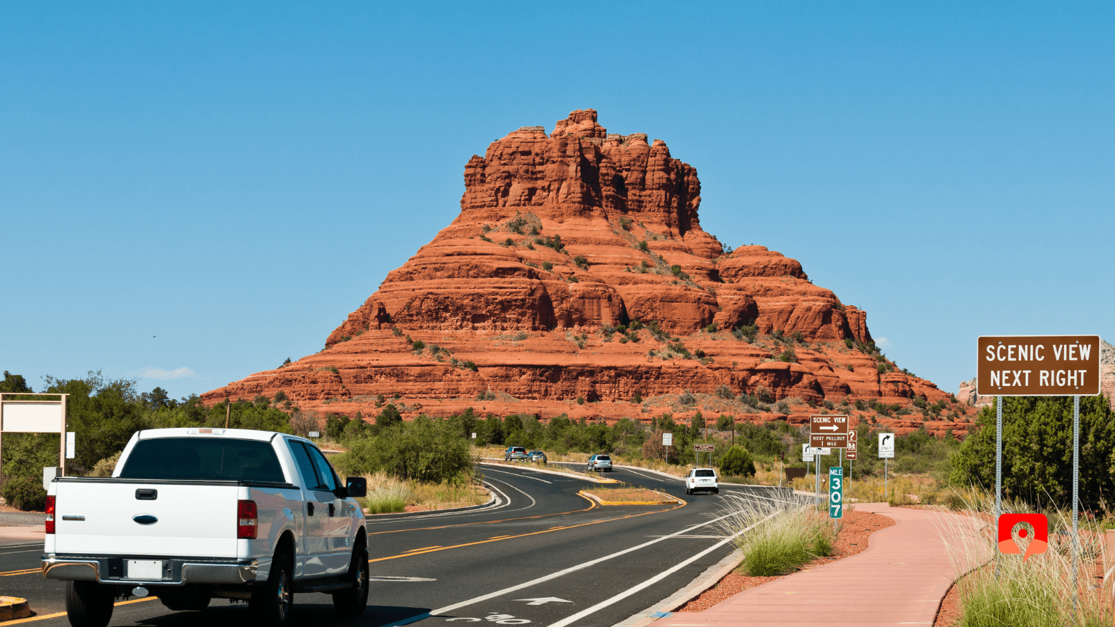 Sedona with GyPSy Guide Driving Tour App