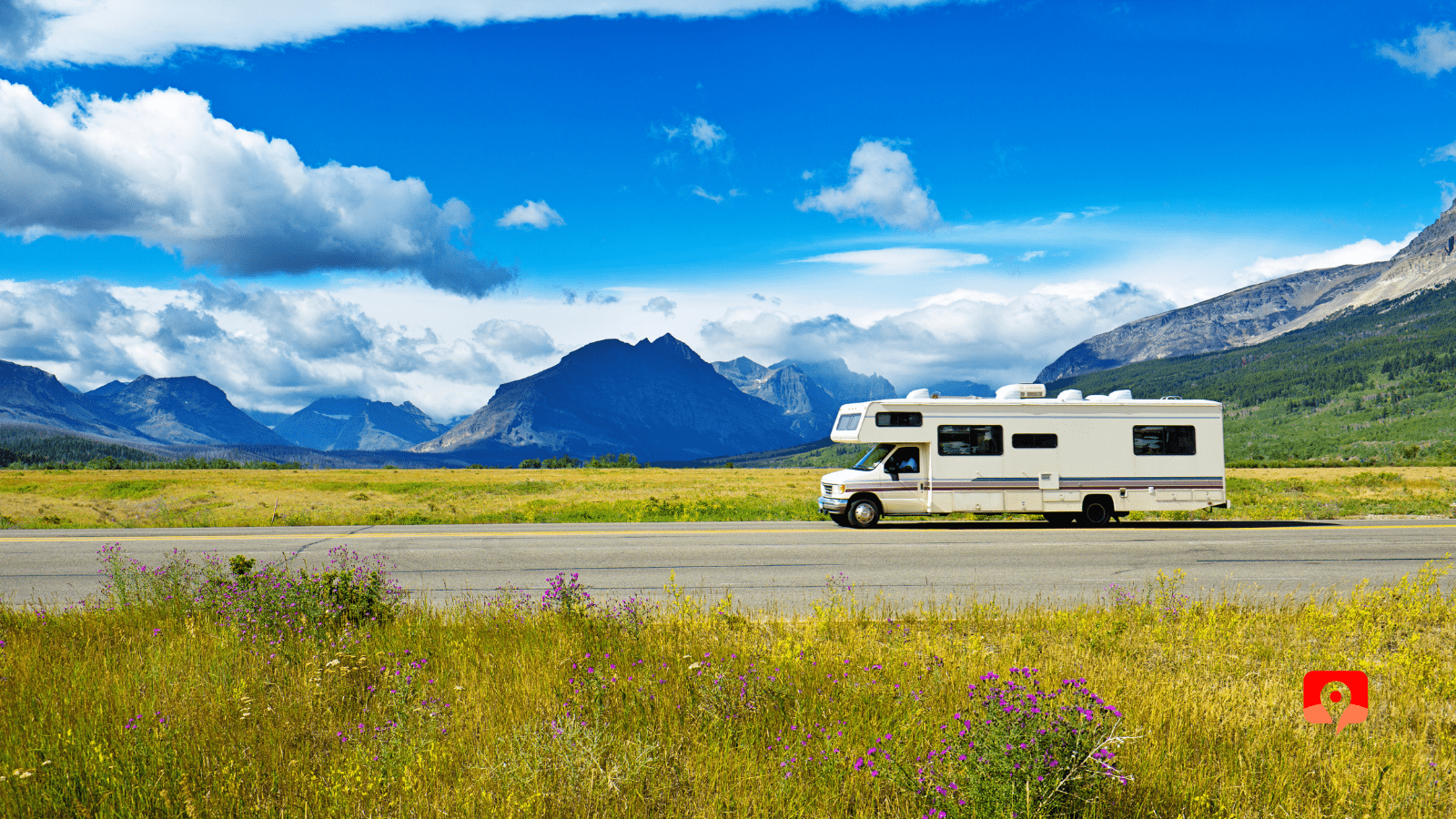 Going to the Sun Road in Glacier National Park with GyPSy Guide Driving Tour App